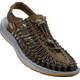 Keen Uneek Sandals Men Dark Olive/Neutral Gray